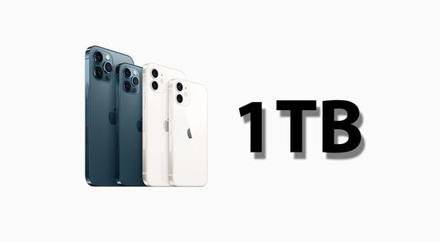 iPhone mới sẽ có thêm tuỳ chọn bộ nhớ 1TB - Ảnh 1.