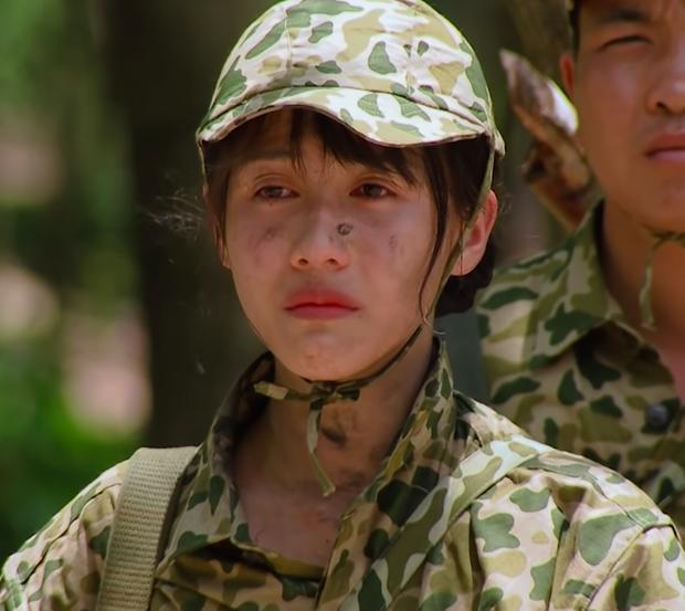 Diệu Nhi lần đầu rơi nước mắt tại Sao Nhập Ngũ, nhìn thì thương nhưng fan vẫn không nhịn được cười - Ảnh 4.