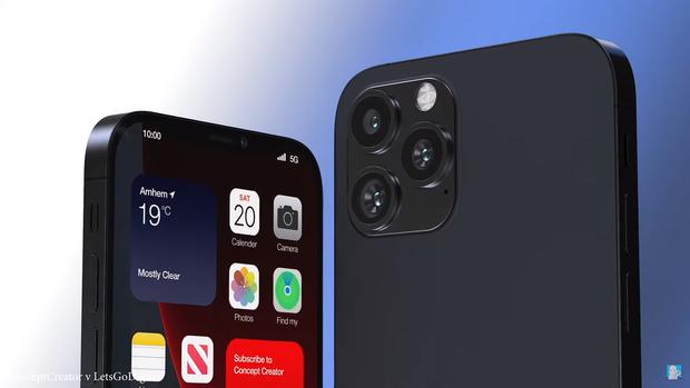 Video: Mãn nhãn với concept iPhone 13 giống hệt iPhone 12, nhưng chỉ cần vài chi tiết nhỏ cũng khiến nó trở thành tuyệt tác của năm 2021 - Ảnh 4.