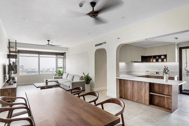 Nhà 140m2 ở Saigon Pearl cải tạo hết 800 triệu, gia chủ bật mí áp lực vì luôn muốn giữ nhà sạch sẽ - Ảnh 2.