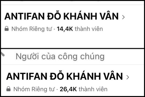 Nhóm anti fan gần 100k thành viên của Khánh Vân bất ngờ bốc hơi, chị họ đứng sau đã rút không làm Admin từ vài ngày trước?  - Ảnh 2.
