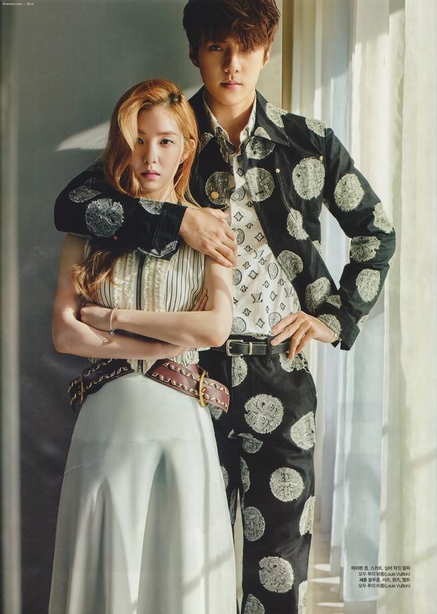 Khoảnh khắc idol nam và nữ tạo tương tác thòng tim: EXO lộ hint với Red Velvet và SNSD, Jin - Jennie đứng thôi cũng như cảnh phim - Ảnh 11.
