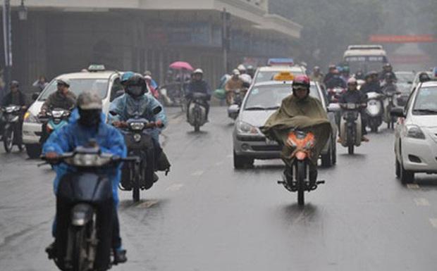 Hà Nội 15 độ C, vừa nồm vừa mưa nên work from home là thượng sách - Ảnh 1.