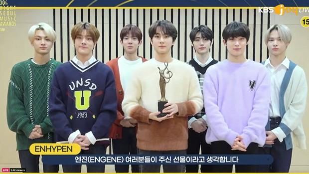 BTS hốt trọn giải, năm thứ 4 liên tiếp đạt Daesang của Seoul Music Awards; BLACKPINK trắng tay toàn tập trong khi TWICE, NCT 127... có giải - Ảnh 6.