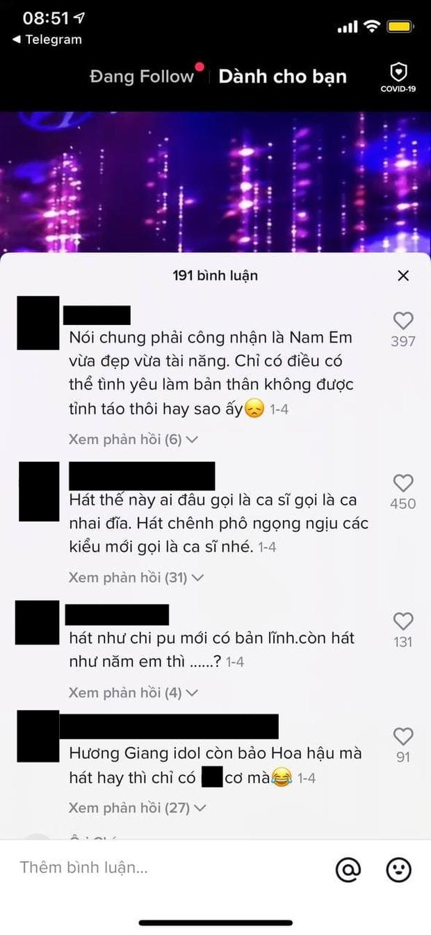 Dân mạng đào clip Nam Em hát live trên sân khấu nhưng bình luận chỉ toàn nhắc tên Chi Pu - Hương Giang - Ảnh 4.