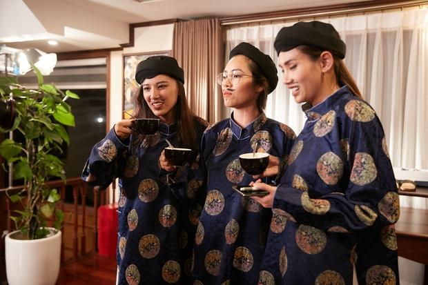 Team Quai Thao lại căng thẳng vì Ngọc Diễm không hài lòng khi được Tường Linh góp ý - Ảnh 1.