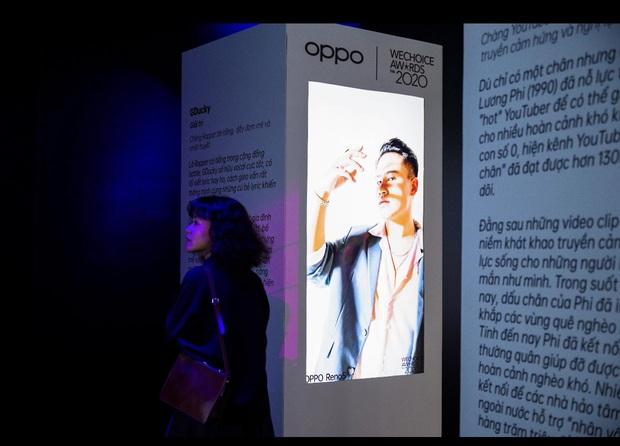 Triển lãm ra mắt siêu phẩm công nghệ: OPPO đồng hành cùng WeChoice Awards tôn vinh khoảnh khắc diệu kỳ của năm 2020 - Ảnh 6.