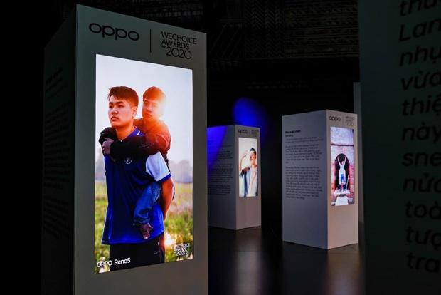 Triển lãm ra mắt siêu phẩm công nghệ: OPPO đồng hành cùng WeChoice Awards tôn vinh khoảnh khắc diệu kỳ của năm 2020 - Ảnh 12.