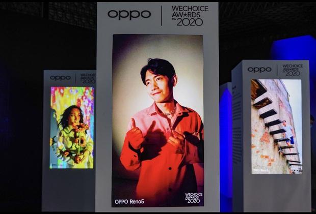 Triển lãm ra mắt siêu phẩm công nghệ: OPPO đồng hành cùng WeChoice Awards tôn vinh khoảnh khắc diệu kỳ của năm 2020 - Ảnh 4.