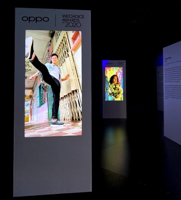 Triển lãm ra mắt siêu phẩm công nghệ: OPPO đồng hành cùng WeChoice Awards tôn vinh khoảnh khắc diệu kỳ của năm 2020 - Ảnh 14.