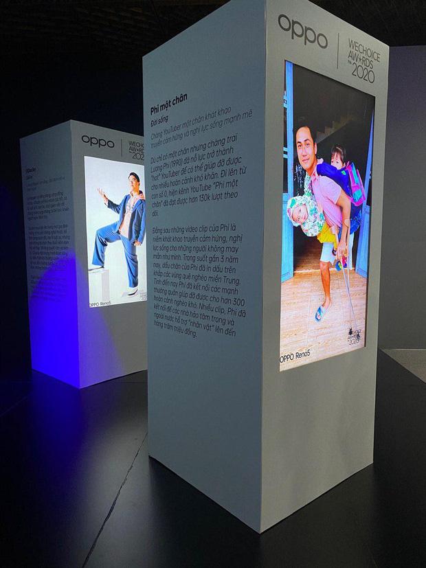 Triển lãm ra mắt siêu phẩm công nghệ: OPPO đồng hành cùng WeChoice Awards tôn vinh khoảnh khắc diệu kỳ của năm 2020 - Ảnh 10.