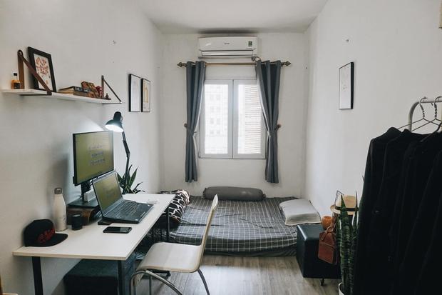 Chàng trai cải tạo phòng ngủ 10m2 theo phong cách cực tối giản, chi phí có 2.5 triệu khiến dân tình lao vào học hỏi - Ảnh 6.