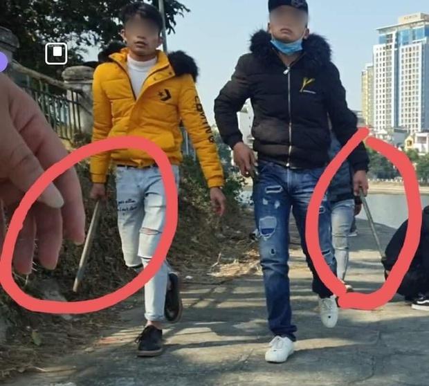 """Hà Nội: 3 nam thanh niên bị tố tấn công người đến hồ Hoàng Cầu câu cá, tự nhận là """"chủ thầu"""" của hồ nhiều năm - Ảnh 2."""