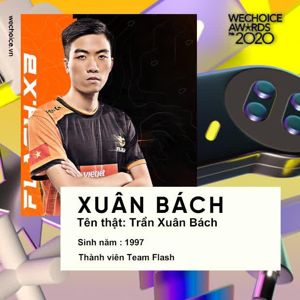 Điểm danh những game thủ Liên Quân Mobile xuất hiện trong danh sách đề cử WeChoice Awards 2020, cộng đồng game quốc dân cho thấy sức ảnh hưởng không hề đơn giản - Ảnh 3.