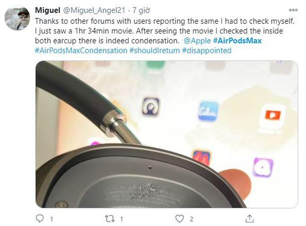 Lỗi chảy nước của tai nghe AirPods Max ngày càng nghiêm trọng - Ảnh 2.