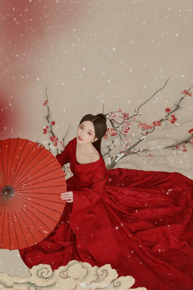 Top 10 hot girl khuấy đảo TikTok Trung Quốc: Dàn mỹ nhân xuyên không mang vẻ đẹp thiên thần, thánh hất tóc chưa phải là nhất - Ảnh 2.