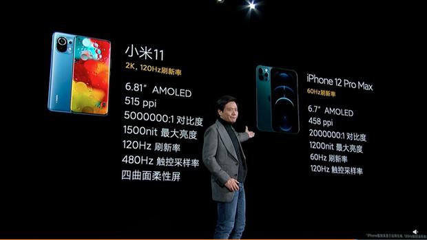 Xiaomi nói Mi 11 tốt hơn iPhone 12 Pro Max ở những điểm nào? - Ảnh 4.