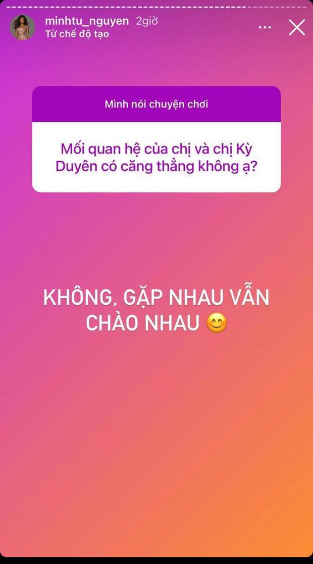 Minh Tú lên tiếng giữa drama unfriend: Đáp cực căng vì bị so với Hoàng Thuỳ, tiết lộ quan hệ hiện tại với Kỳ Duyên - Ảnh 4.