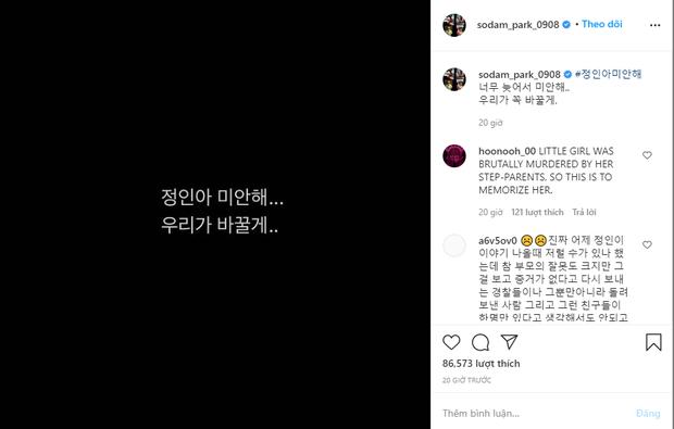 Jimin (BTS), mỹ nhân Vườn Sao Băng và dàn sao khiến cả xứ Hàn dậy sóng với lời xin lỗi bé gái 16 tháng tuổi bị bạo hành đến chết - Ảnh 7.