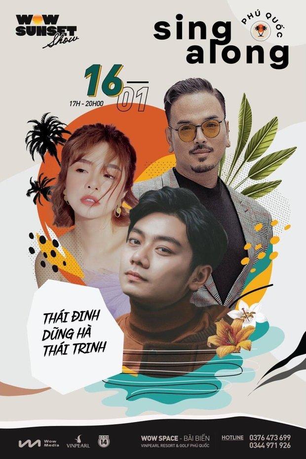 Hà Trần - Uyên Linh đọ giọng ép phê tại mini show đón hoàng hôn trên bãi biển, Hà Lê hát nhạc Trịnh nhưng vẫn giữ tinh thần Underground - Ảnh 15.