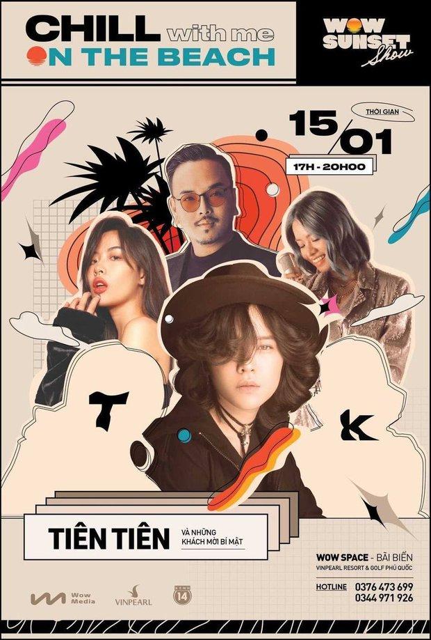 Hà Trần - Uyên Linh đọ giọng ép phê tại mini show đón hoàng hôn trên bãi biển, Hà Lê hát nhạc Trịnh nhưng vẫn giữ tinh thần Underground - Ảnh 14.