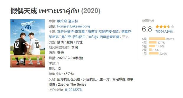 10 bộ đam mỹ hay nhất 2020 do fan Trung chọn ra: TharnType 2 ngoài rìa Top 5 vẫn đỡ hơn 2gether bay màu khó hiểu - Ảnh 22.