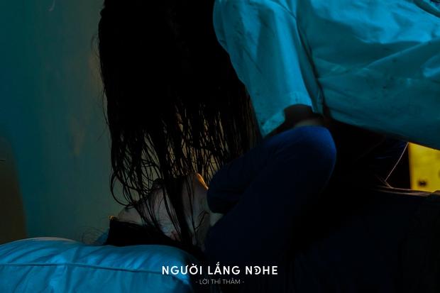 Phạm Quỳnh Anh xuất hiện tiều tụy, mệt mỏi trong teaser phim kinh dị hồn ma bóng quế ghê rợn Người Lắng Nghe - Ảnh 4.