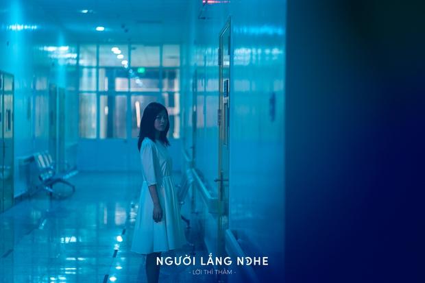 Phạm Quỳnh Anh xuất hiện tiều tụy, mệt mỏi trong teaser phim kinh dị hồn ma bóng quế ghê rợn Người Lắng Nghe - Ảnh 2.