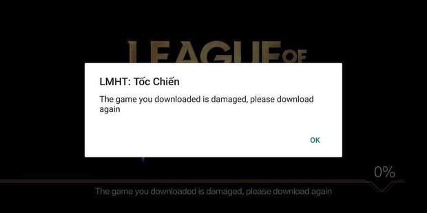 Tốc Chiến bị lỗi không thể đăng nhập trên Android, game thủ lập tức đòi skin đền bù thiệt hại - Ảnh 1.