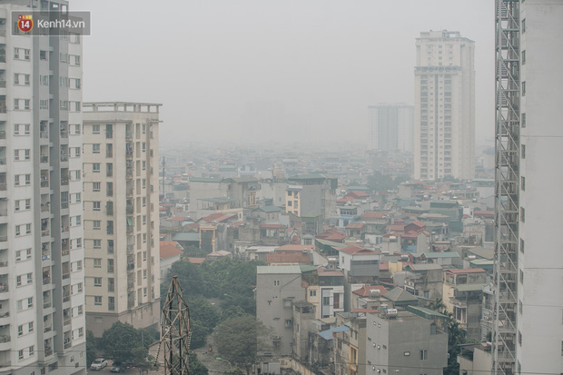 Chất lượng không khí Hà Nội ở mức nguy hại cho sức khoẻ người dân - Ảnh 2.