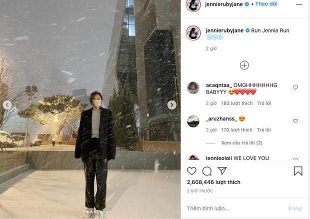Rosé - Jennie (BLACKPINK) khoe ảnh tuyết rơi nặng hạt gây sốt ở Hàn, fan phát hiện hint hẹn hò với 1 idol nhà SM? - Ảnh 2.