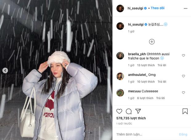 Rosé - Jennie (BLACKPINK) khoe ảnh tuyết rơi nặng hạt gây sốt ở Hàn, fan phát hiện hint hẹn hò với 1 idol nhà SM? - Ảnh 4.