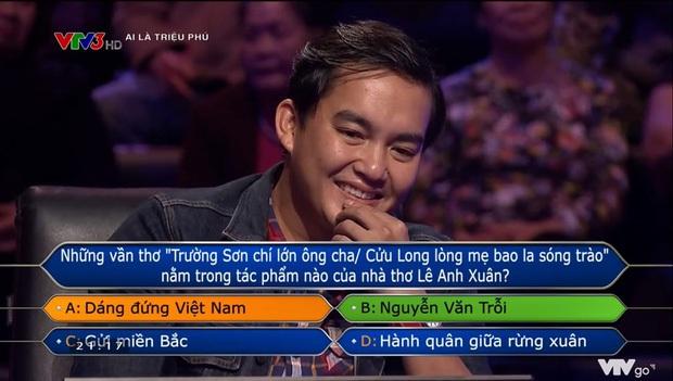 Trần Đặng Đăng Khoa - người đầu tiên quyết chơi đến câu 15 ở Ai Là Triệu Phú: Nghe MC đọc xong đã biết không trả lời được nhưng tính tôi thế! - Ảnh 1.