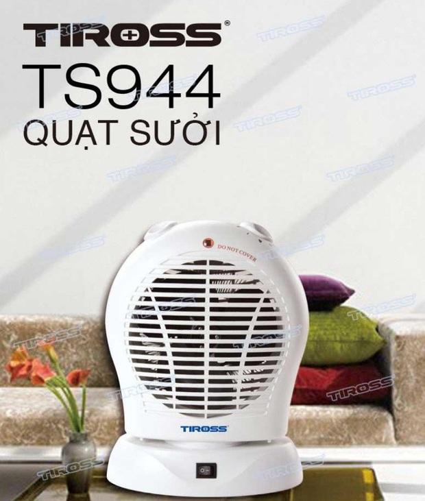 Quạt sưởi Tiross 550k: Nhỏ gọn, làm nóng nhanh nhưng lại có 2 nhược điểm - Ảnh 1.