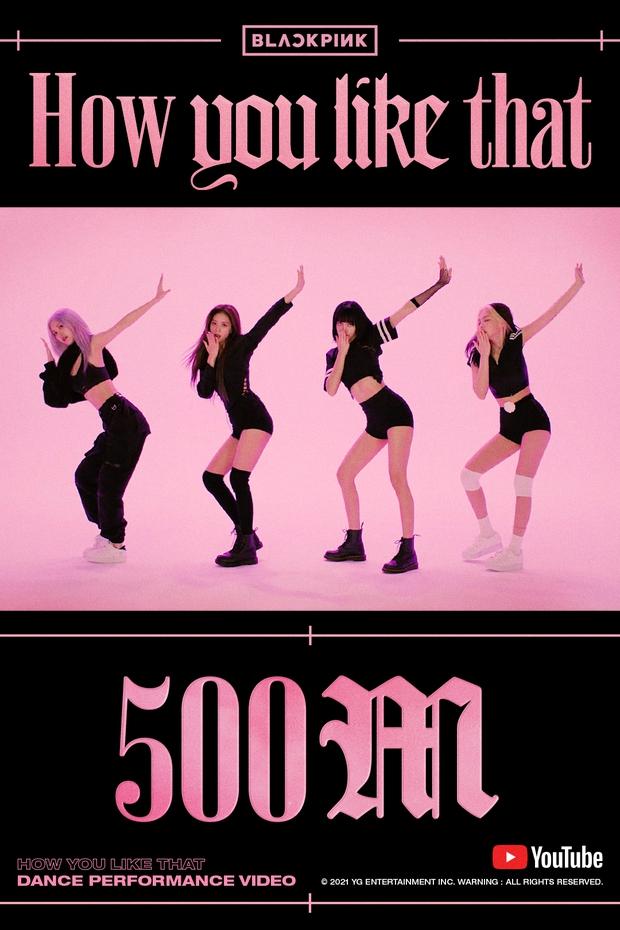 Bản dance của How You Like That nối dài kỷ lục ở mốc nửa tỷ view, cho hàng loạt MV đậm mùi tiền của BLACKPINK ngửi khói - Ảnh 1.