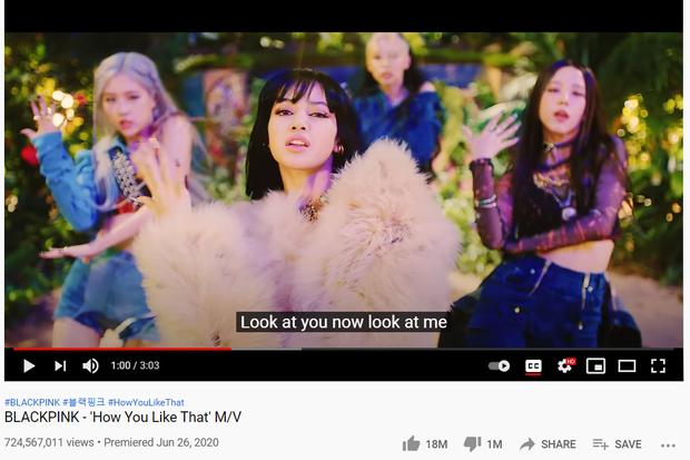 Bản dance của How You Like That nối dài kỷ lục ở mốc nửa tỷ view, cho hàng loạt MV đậm mùi tiền của BLACKPINK ngửi khói - Ảnh 3.
