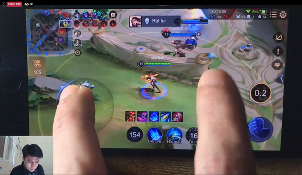 Nam streamer tự nhận Thần Điêu Đại Hiệp, chơi Liên Quân chỉ bằng một tay thu hút hàng nghìn lượt xem - Ảnh 2.