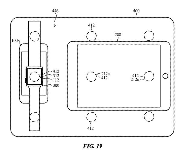 Apple đăng ký bằng sáng chế cho phép sử dụng MacBook để sạc không dây cho iPhone và Apple Watch - Ảnh 1.
