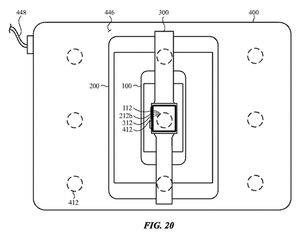 Apple đăng ký bằng sáng chế cho phép sử dụng MacBook để sạc không dây cho iPhone và Apple Watch - Ảnh 2.