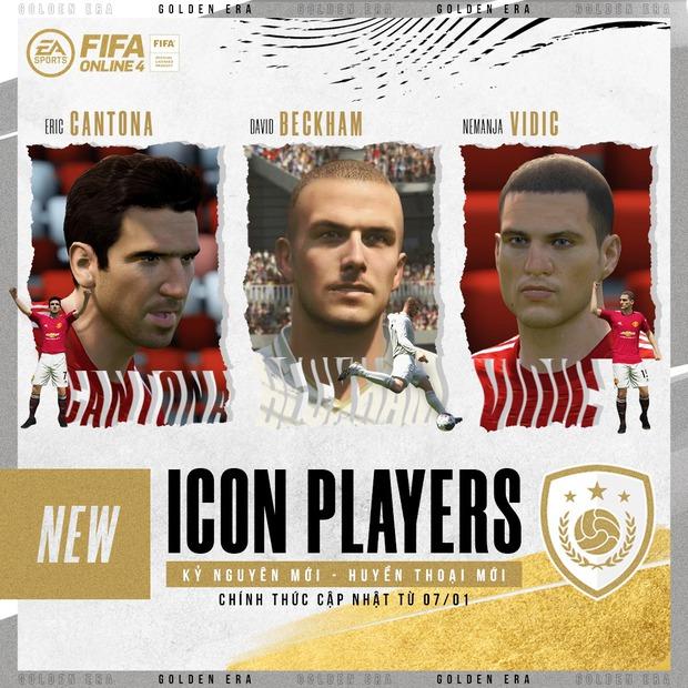FIFA Online 4: Beckham, Catona, Vidic chính thức về làng, fan MU hẳn là người vui sướng nhất - Ảnh 2.
