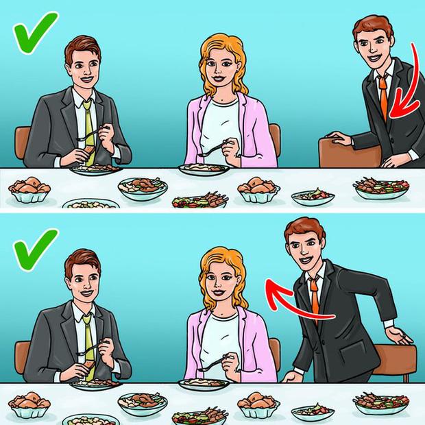 12 quy tắc ứng xử chuẩn chỉnh của người thanh lịch trên bàn ăn đa phần mọi người đều mắc lỗi thường xuyên, nhất là điều số 3 - Ảnh 12.