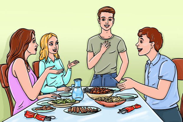 12 quy tắc ứng xử chuẩn chỉnh của người thanh lịch trên bàn ăn đa phần mọi người đều mắc lỗi thường xuyên, nhất là điều số 3 - Ảnh 5.