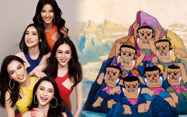 Team Hoàng Thùy khoe hình cười không hề giả trân, netizen nói giống phim hoạt hình - Ảnh 5.