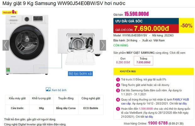 Loạt máy giặt đang sale mạnh: Chỉ từ 4,9 triệu là sắm được một em ngon nghẻ - Ảnh 1.
