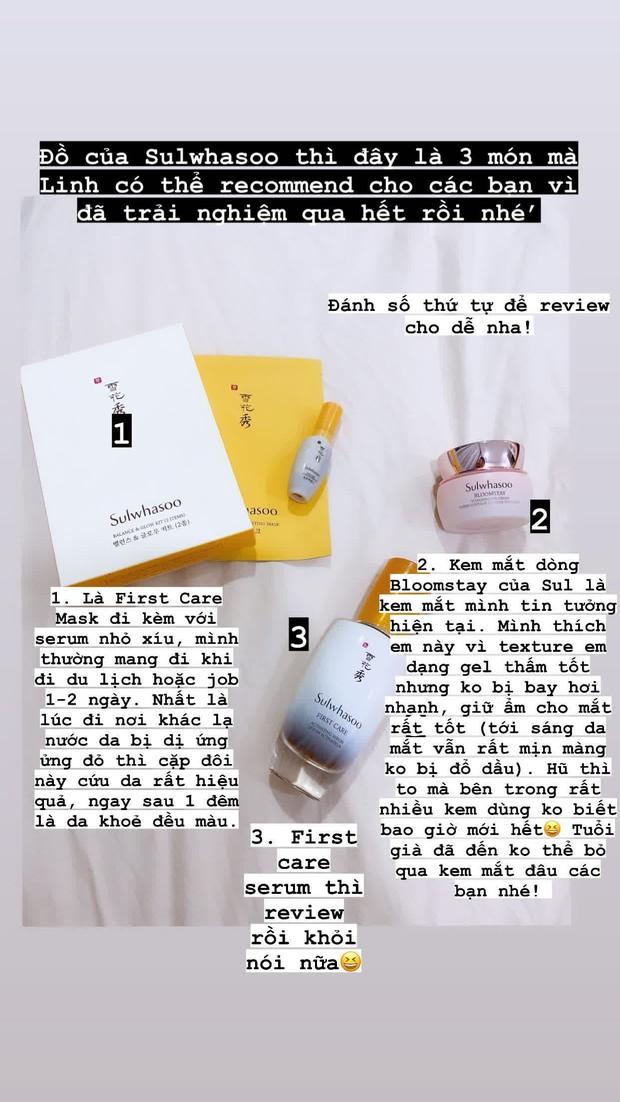 """Bộ mỹ phẩm """"hàng tuyển"""" của Khánh Linh: 2 kem chống nắng dùng cực thích, son Hermès màu mới siêu đẹp - Ảnh 5."""