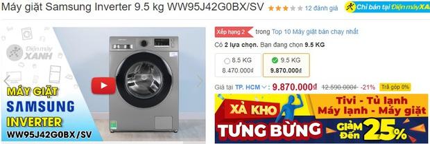Loạt máy giặt đang sale mạnh: Chỉ từ 4,9 triệu là sắm được một em ngon nghẻ - Ảnh 7.