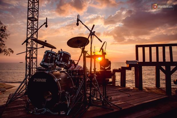 Ngây ngất sân khấu HOT14 WOW Sunset Fest: đắm mình tuyệt đẹp dưới hoàng hôn Phú Quốc, đỉnh cao của chill là đây chứ đâu! - Ảnh 5.