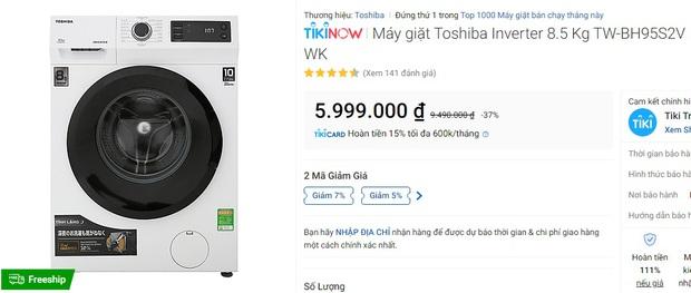 Loạt máy giặt đang sale mạnh: Chỉ từ 4,9 triệu là sắm được một em ngon nghẻ - Ảnh 9.