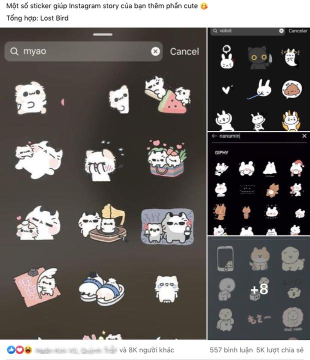 Nếu bạn là con nghiện chơi story Instagram, chắc chắn phải biết những sticker đang khiến cộng đồng mạng phát cuồng này! - Ảnh 1.