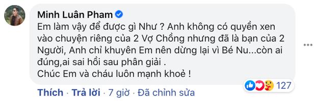 Bạn thân tố Hoàng Anh vũ phu với vợ khi còn chung sống, tiết lộ phản ứng của Quỳnh Như khi được Minh Luân khuyên nhủ - Ảnh 3.